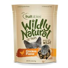 Fruitables Wildly Natural Cat Treat - Chicken