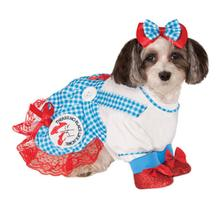 Wizard of Oz Dorothy Dog Halloween Costume