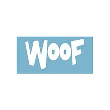 Woof Car Window Decal