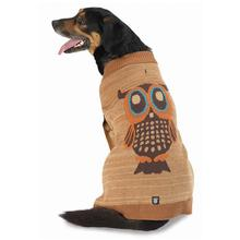 Woody's Woodland Dog Sweater - Oatmeal Owl