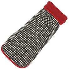 Houndstooth Fleece-Lined Dog Coat by Up Country
