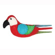 Wooly Wonkz Safari Cat Toy - Parrot