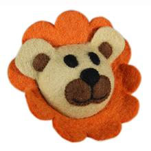Wooly Wonks Safari Dog Toy - Lion