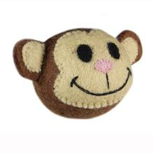 Wooly Wonkz Safari Dog Toy - Monkey