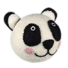 Wooly Wonkz Safari Dog Toy - Panda