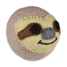 Wooly Wonkz Safari Dog Toy - Sloth