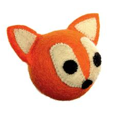 Wooly Wonkz Woodland Dog Toy - Fox