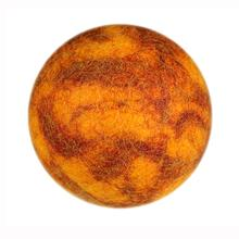 Wooly Wonks Woodland Dog Toy - Orange Stone Ball