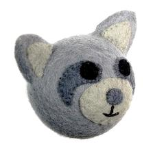Wooly Wonkz Woodland Dog Toy - Raccoon