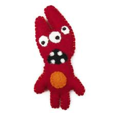 Wooly Wonkz Monsters Cat Toy - Doreen