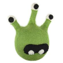 Wooly Wonkz Monsters Dog Toy - Walter