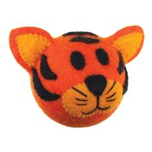 Wooly Wonkz Safari Dog Toy - Tiger