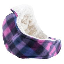 Worthy Dog Aviator Dog Hat - Purple Checkered Plaid