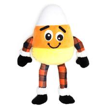 Worthy Dog Buffalo Dog Toy - Candy Corn