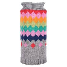 Worthy Dog Fairisle Dog Sweater - Argyle