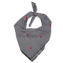 Worthy Dog Gingham Hearts Dog Bandana