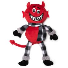 Worthy Dog Halloween Buffalo Dog Toy - Devil