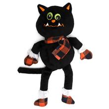 Worthy Dog Halloween Buffalo Dog Toy - Cat