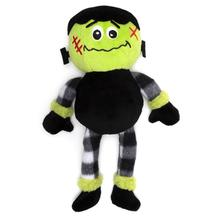Worthy Dog Halloween Buffalo Dog Toy - Frankenstein