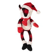 Worthy Dog Holiday Buffalo Fox Dog Toy