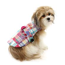Worthy Dog Madras Bright Dog Dress