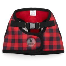 Worthy Dog Sidekick Buffalo Plaid Printed Dog Harness