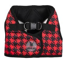 Worthy Dog Sidekick Houndstooth Printed Dog Harness