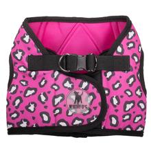 Worthy Dog Sidekick Pink Cheetah Printed Dog Harness