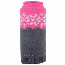 Worthy Dog Ski Lodge Dog Sweater - Fuchsia