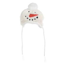 Worthy Dog Snowman Dog Hat