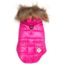 Worthy Dog Telluride Puffer Dog Coat - Hot Pink
