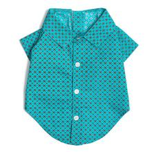 Worthy Dog Foulard Dog Shirt - Turquoise