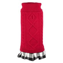 Worthy Dog Turtleneck Dog Dress - Red