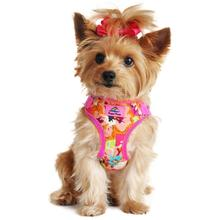 Wrap and Snap Choke Free Dog Harness by Doggie Design - Aruba Raspberry