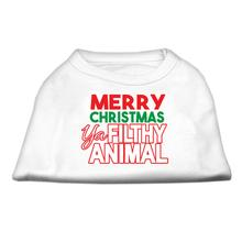 Ya Filthy Animal Dog and Cat Shirt - White