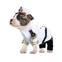 Yacht Admiral Dog Costume