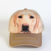 Yellow Lab Face Trucker Hat by The Mountain