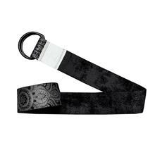 Yoga Strap - Mandala Black