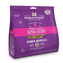 Stella & Chewy's Yummy Lickin' Salmon & Chicken Dinner Cat Food - Freeze Dried