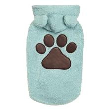 Zack and Zoey Elements Cuddle Bear Dog Jacket - Blue