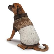 Zack and Zoey Fair Isle Aberdeen Dog Sweater