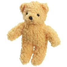 Zanies Berber Bear Dog Toy - Yellow