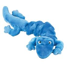 Zanies Bungee Geckos Dog Toy - Blue
