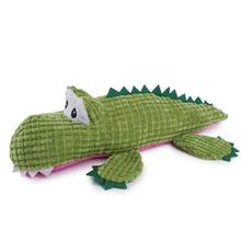 Zanies Corduroy Croc Dog Toy