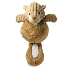 Zanies Country Crew Dog Toy - Squirrel