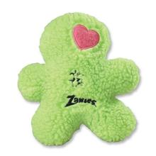 Zanies Embroidered Berber Boys Dog Toy - Green