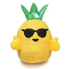 Zanies Hawaiian Breeze Pineapple Boy Dog Toy