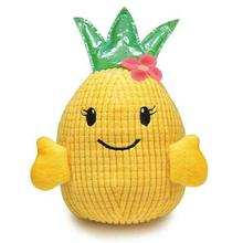 Zanies Hawaiian Breeze Pineapple Girl Dog Toy