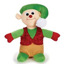 Zanies Holiday Friends Dog Toy - Elf