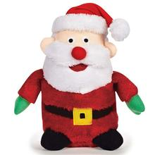 Zanies Holiday Friends Dog Toy - Santa